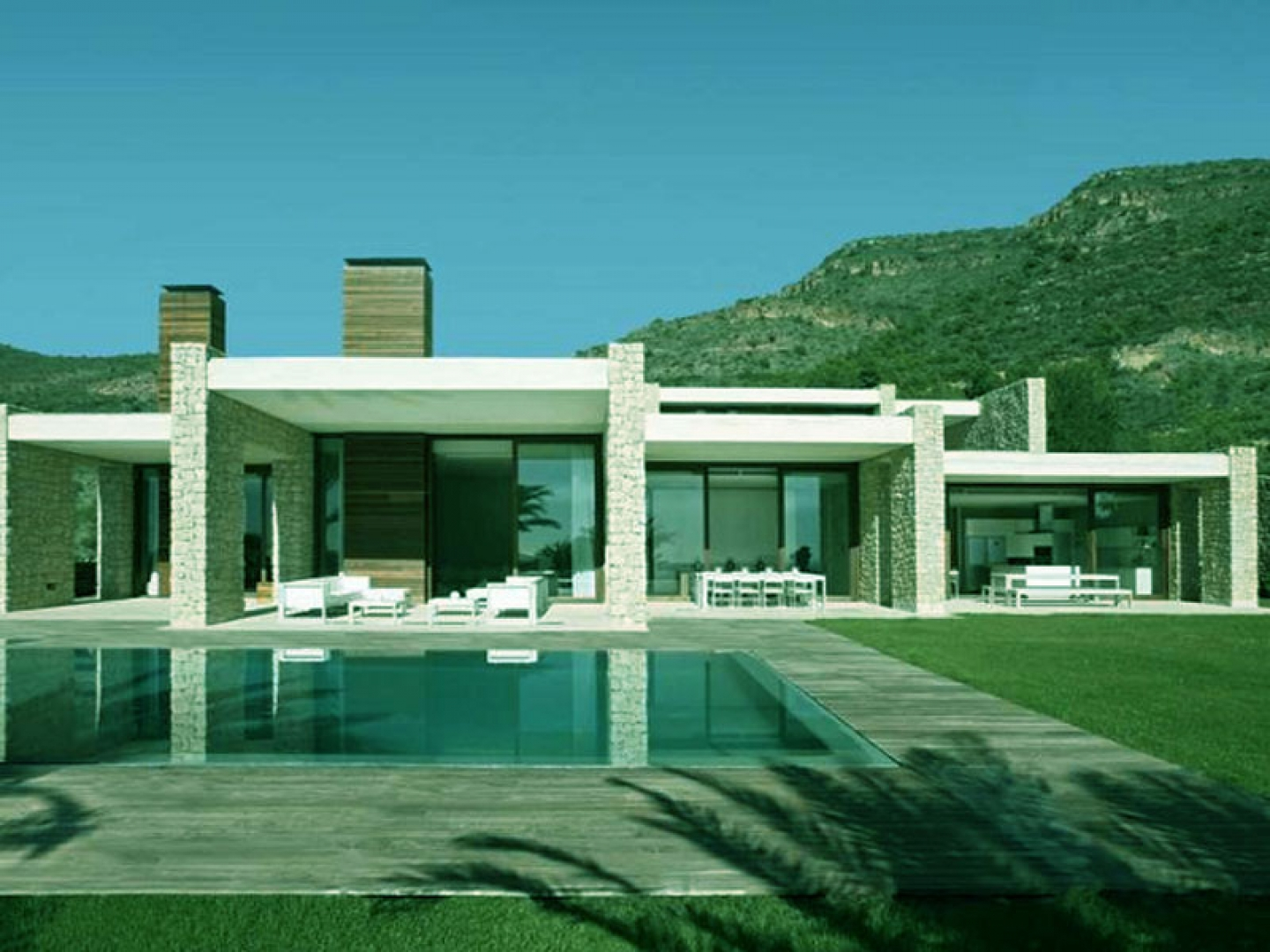 Beautiful architecture house swimming pool design for Beautiful architecture houses